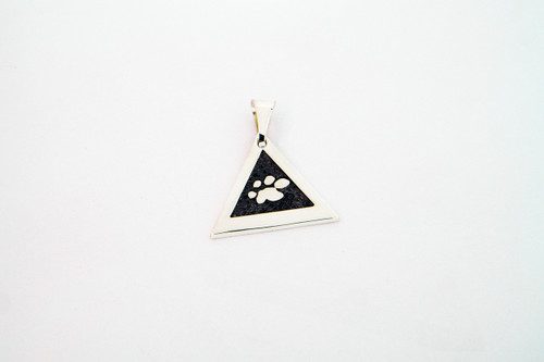 Great Paw Pendant with Raised Details