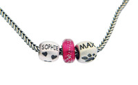 4 Paws Bead - Hearts & Paws - Sterling Silver