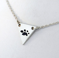 4 Paws Bastet Pendant - Sterling Silver