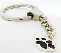 Single Paw Keychain