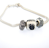 Classic Baby Bead and Bracelet
