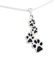 Custom Paw Journey Pendant