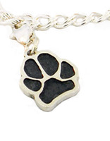 Single Paw Charm with Custom Paw