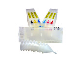 Refillable Cartridge set (7) for the Epson Pro 7600/9600 - Matte Black version - empty - no inks included