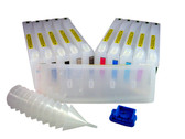 Refillable Cartridge set (11) for the Epson Pro 7900/9900 - empty - no inks - includes resetter
