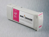 Re-manufactured 775 ml Cartridge for HP Z6100 filled with i2i Absolute Match HP91 pigment ink - Magenta