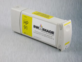 Re-manufactured 775 ml Cartridge for HP Z6100 filled with i2i Absolute Match HP91 pigment ink - Yellow