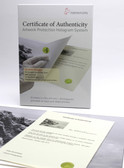 Hahnemuhle Certificate of Authenticity - 25 sheets pack