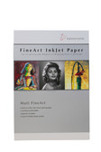 "Hahnemuhle Textured Matte FineArt Sample Pack - includes 2 sheets 8.5"" x 11"" of six media types"