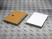 """Sublim8 mounting block for metal prints, 4.75"""" x 6.75"""" x 0.75"""", silver edge, pack of 10"""