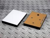 "Sublim8 mounting block for metal prints, 4.75"" x 6.75"" x 0.75"", black edge, pack of 10"