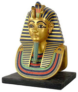 Funerary Mask of King Tut (Medium size) : Egyptian Museum, Cairo Dynasty XVIII, 1347-1237 B.C. - Photo Museum Store Comp