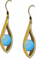 Eye of Horus Earrings - Photo Museum Store Company