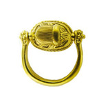 Swivel Scarab Ring - Photo Museum Store Company