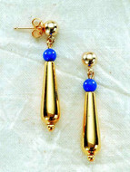 Dahshur Earrings - Egyptian, Middle Kingdom XII Dynasty - Photo Museum Store Company