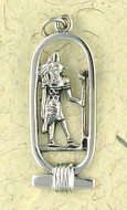 Anubis  Pendant on Cord : Egyptian Collection - Photo Museum Store Company