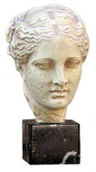 Head of Hygeia - National Archaeological Museum, Athens. 360 B.C. - Photo Museum Store Company