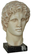 Bust of Alexander the great - The Acropolis Museum, Athens, 330 B.C. - Photo Museum Store Company