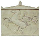 The rearing steed relief - The Parthenon, Athens, Greece, 5th century B.C. - Photo Museum Store Company