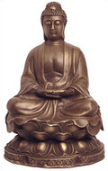 Seated Buddha, Meditation pose - Photo Museum Store Company