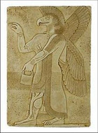 Eagle Spirit - Palace of Assurnasirpal II Nimrud, Assyria ca 875-860 B.C. - Photo Museum Store Company