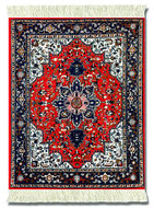 Tabriz-Heriz : Red Group - Persian - Photo Museum Store Company