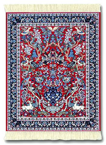 tree of life miniature rug museum store company  ts jewelry and