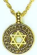 Star of David Pendant, Collection of Judaic Jewelry - Photo Museum Store Company