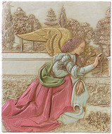The Annunciation - From a painting of Leonardo Da Vinci - Photo Museum Store Company