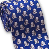 Museum Designs Shakespeare Necktie - Photo Museum Store Company