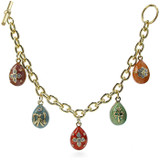 Imperial Pastel Egg Bracelet - Russian, 18th - 19th Century - Photo Museum Store Company