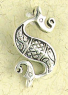 Celtic Sea Horse Pendant on Cord : Celtic and Irish Collection - Photo Museum Store Company