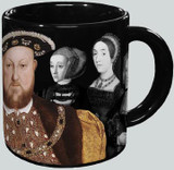 Henry VIII Disappearing Mugs - Watch his Wives Dissapear! - Photo Museum Store Company