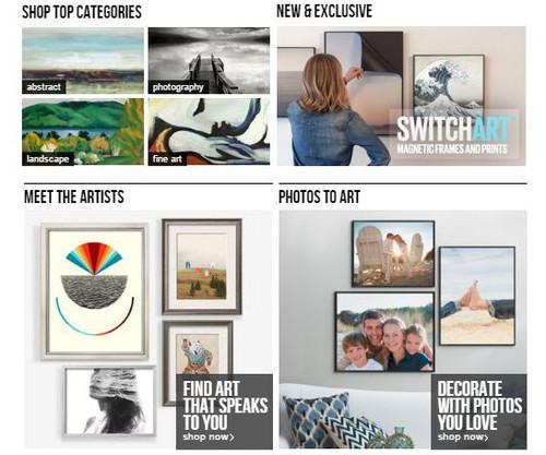 ART PRINTS & REPRODUCTIONS Framed Wall Art Shop - Framed Art Store Shop Photo