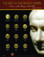 Rise and Fall of Caesar and Rome - Coins From the Life and Death of Julius Caesar (49BC to 44BC) - Photo Museum Store Co