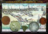 American Commerce 1776 - Early American Pennies and Dollars - Photo Museum Store Company