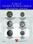 Coins of Ancient Rome and Greece - Alexander the Great, Mark Anthony, Cleopatra, Julius Caesar, Octavian & Nero (320BC -