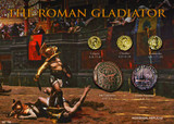 The Roman Gladiator - Rome, Roman Empire - Coins from 51-192AD  - Photo Museum Store Company