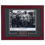 Full Victory - Nothing Else - Autographed and Signed by Wild Bill, with Artifact, Relic - Photo Museum Store Company