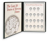 Collector's Last Twenty Years of Mercury Dimes - Actual Authentic Collectable - Photo Museum Store Company