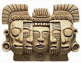 Mask of Death & Rebirth, Tikal, Mexico. 900 AD, Maya - Photo Museum Store Company
