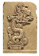 Maya Vision Serpent - Yaxchilan, Mexico. 755 A.D. - Photo Museum Store Company