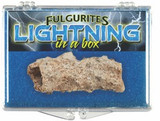 Fulgurite - Lightning Strike Specimen, Morocco - Actual Authentic Specimen - Photo Museum Store Company