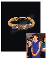 Jacqueline Jackie Kennedy Collection - Amethyst Pave Bracelet - Photo Museum Store Company