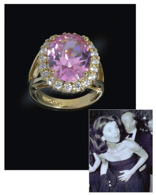the kunzite ring president presidential history jfk