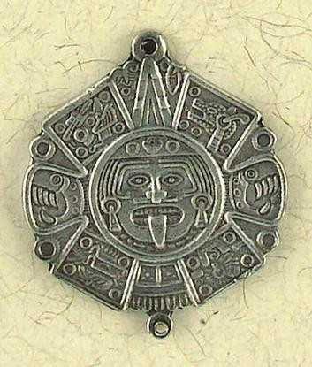 Toniatu: The Sun Pendant on Cord : Turtle Island - Aztec Collection - Photo Museum Store Company