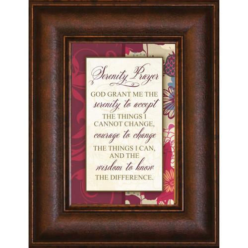 serenity prayer mini framed print wall art photo museum store