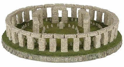 Stonehenge (restored reproduction)  :  Salisbury Plain, Wiltshire, England, 2950 B.C. - Photo Museum Store Company