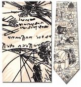 Leonardo DaVinci Sketches Necktie - Museum Store Company Photo
