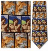Michelangelo-Adam & God Necktie - Museum Store Company Photo